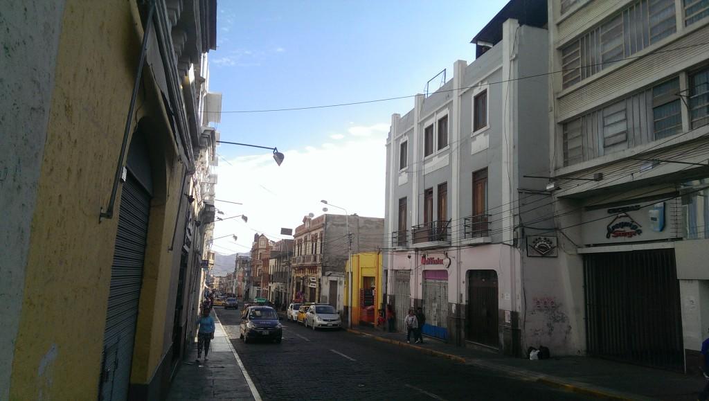 In den Gassen von Arequipa