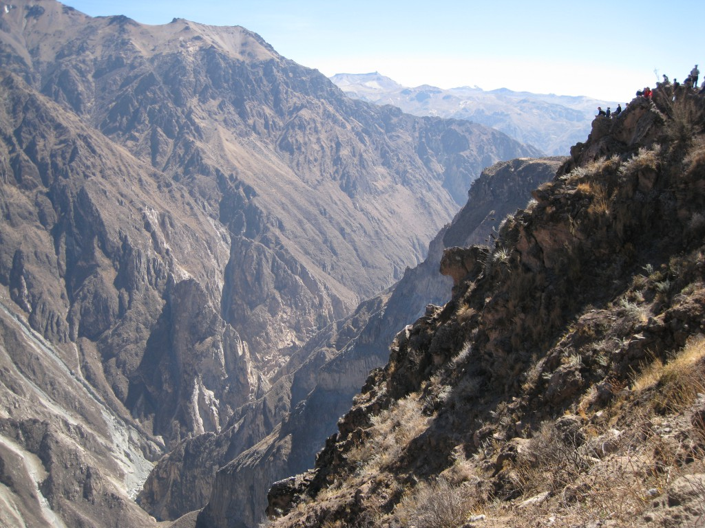 Colca Canyon, tiefer als der Grand Canyon.