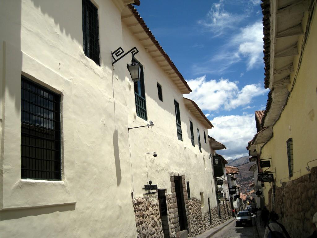 ...und Cusco von unten.