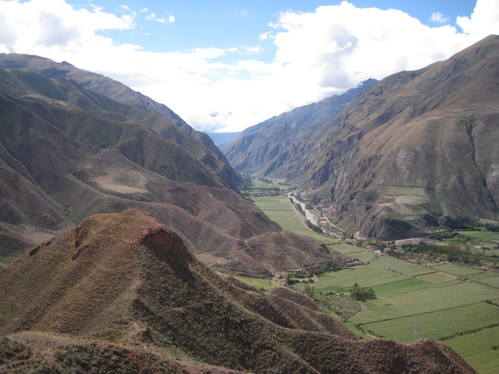 Urubamba Tal, bei den Touris besser als Sacred Valley bekannt.
