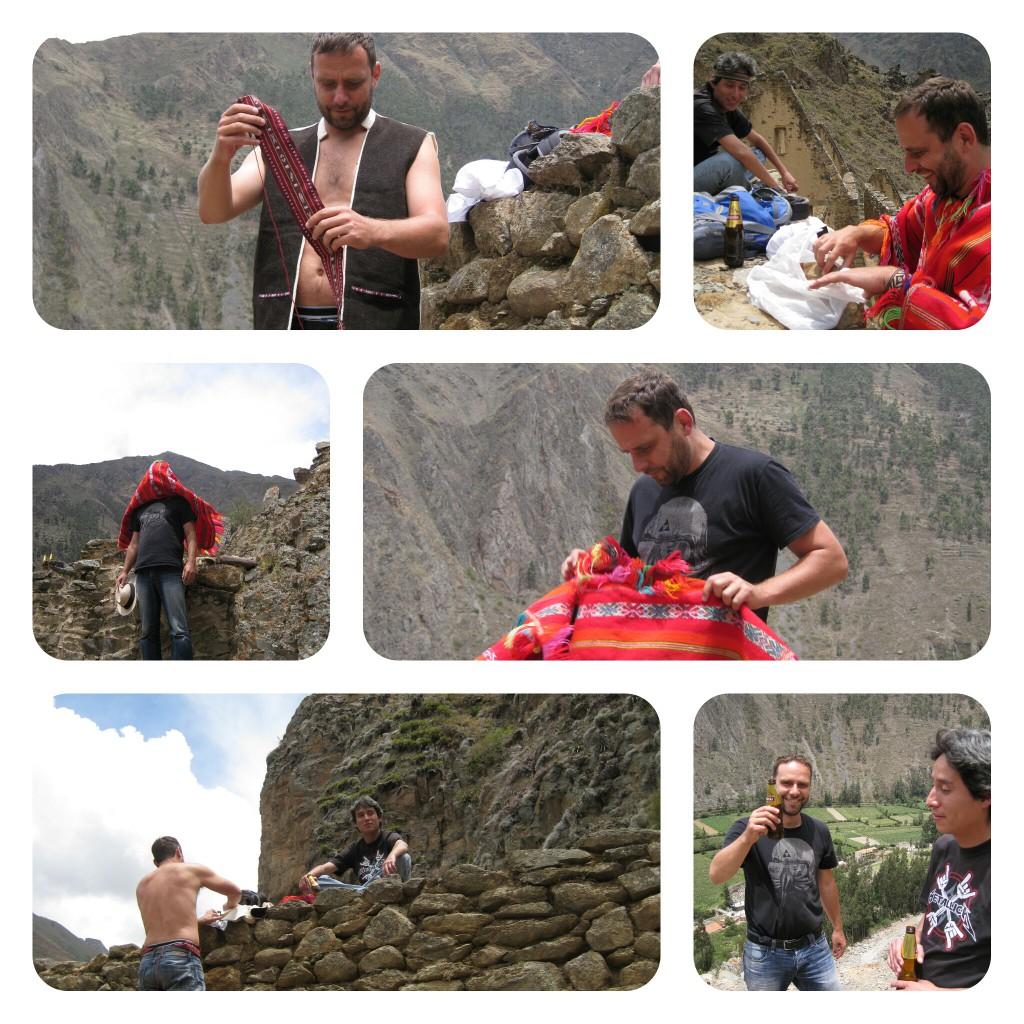 Peruanischer Editorial Shoot.